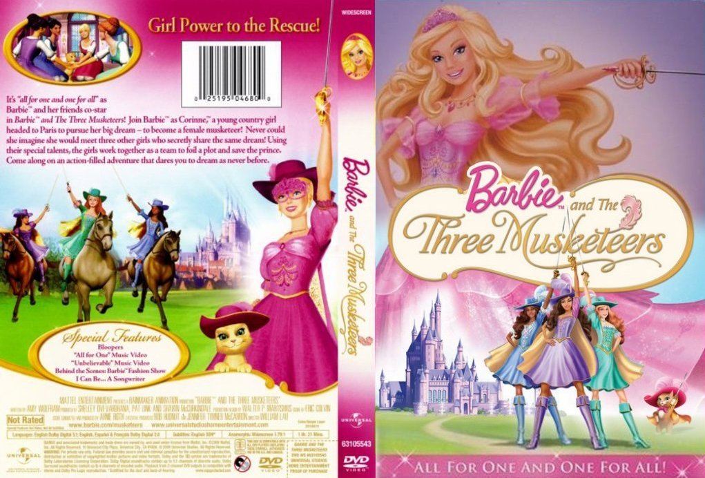 Barbie and The Three MusketeersMerchandise  Barbie Movies Wiki