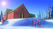 Barbie A Perfect Christmas Concept Art 6
