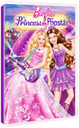 Barbie The Princess and & Popstar Early DVD