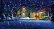 Barbie A Perfect Christmas Concept Art 2