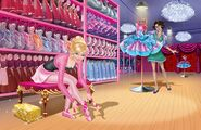 Book Illustration of Pink Shoes 2