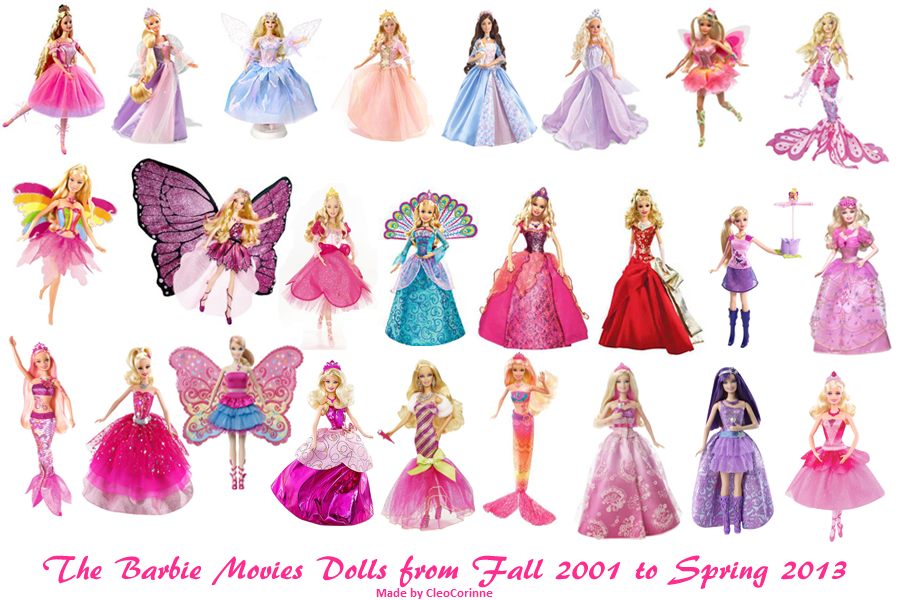 barbie all dolls