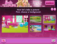 Barbie Groom and Glam Pups Browser Game Background 2