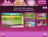 Barbie Groom and Glam Pups Browser Game Background 1