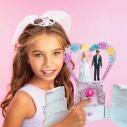 Barbie Wedding Cake Playset 3
