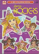 Barbie and the rockers coloring book