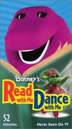 Barney's Read with Me, Dance With Me VHS