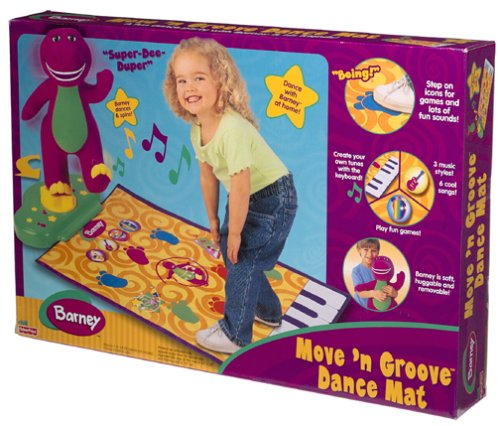 Barney Move N Groove Dance Mat Barney Wiki Fandom Powered By Wikia