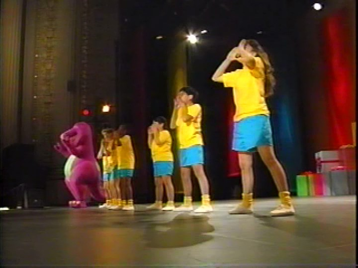 We Are Barney And The Backyard Gang Barney Wiki FANDOM Powered - Concert barney wiki
