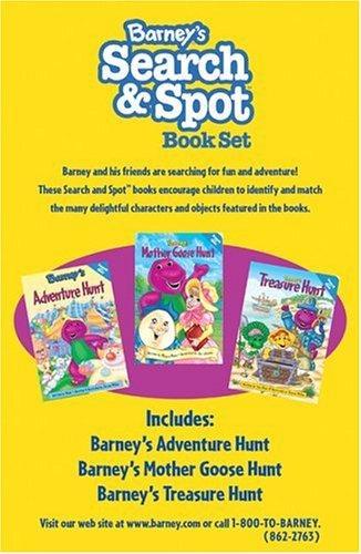 Barney's Search & Spot Book Set | Barney Wiki | FANDOM ...