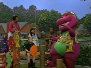 The Fishing Song Barney Wiki Fandom Powered By Wikia