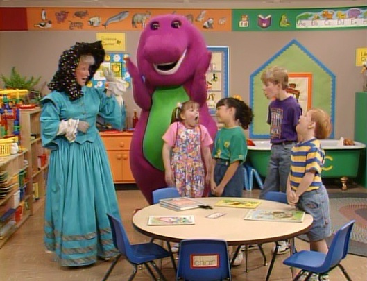 Let's Help Mother Goose!   Barney Wiki   FANDOM powered by ...