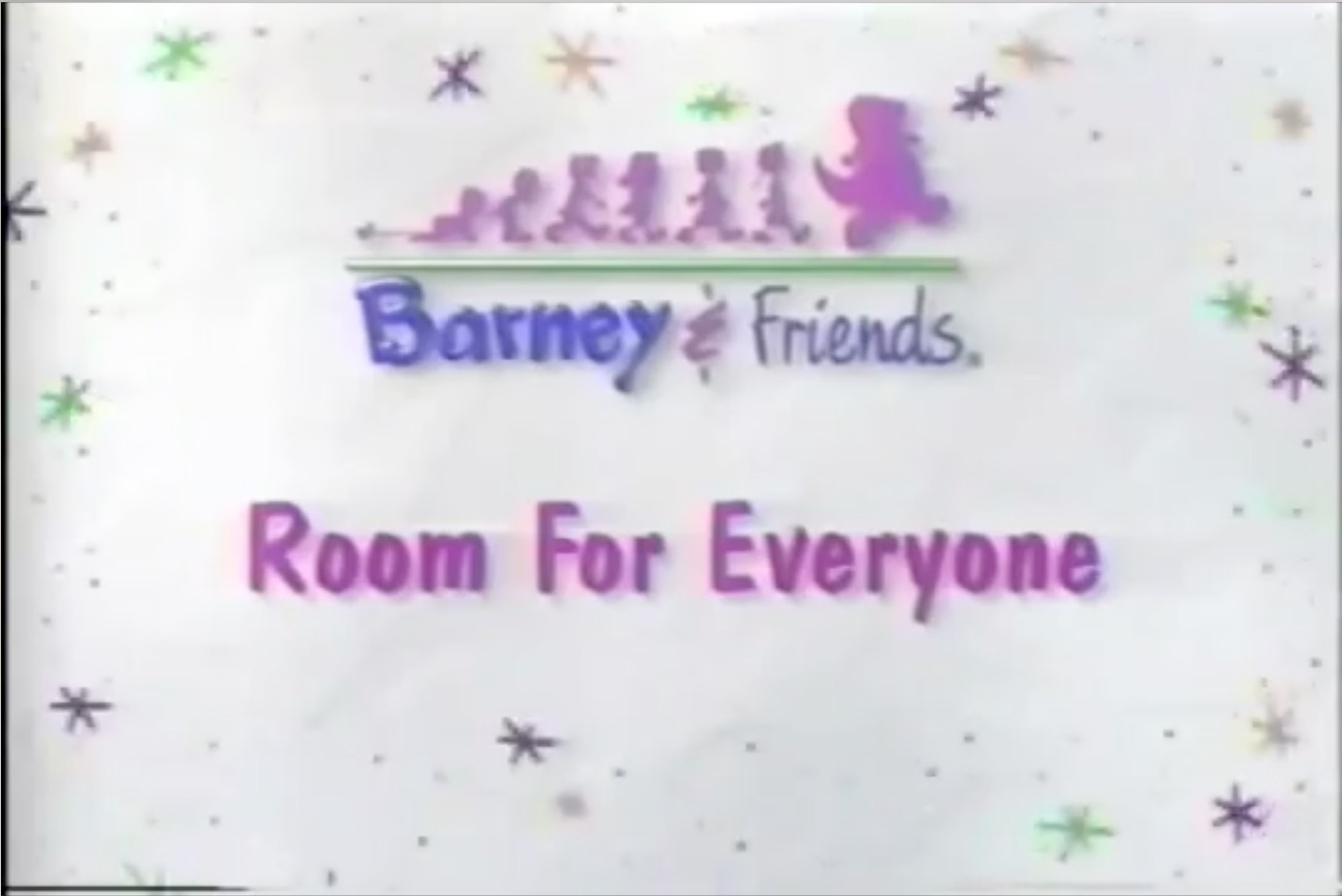 Room For Everyone Title Card