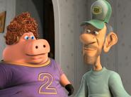 Back at the Barnyard Mr. Beady and Pig
