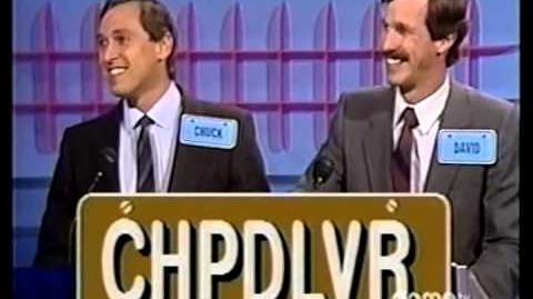 Bumper Stumpers Chuck & David at bonus round