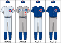 Chicago Cubs Uniform