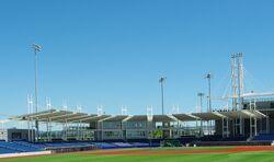 Hillsboro Ballpark June 2013 covered seating - Oregon