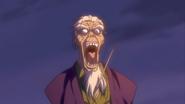 Ogen killing Danjou from behind