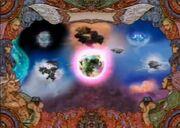 Sky World Map Eternal Wings