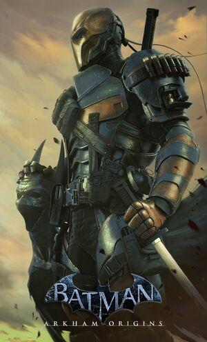 Arkham origins poster