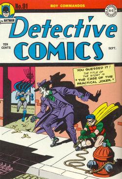 Detective Comics Vol 1-91 Cover-1
