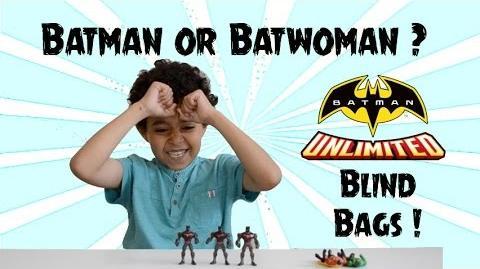Batman or Batwoman? Five Batman Unlimited Blind Bags