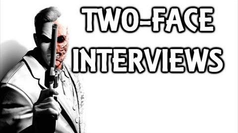 Batman Arkham City Two-Face Interview Tapes