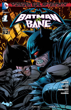 Forever Evil Aftermath Batman vs Bane Vol 1-1 Cover-1