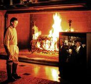 Wayne Manor Fireplace
