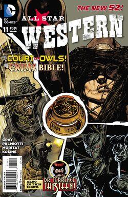 All Star Western Vol 3-11 Cover-1