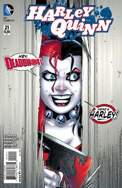Harley Quinn Vol 2-21 Cover-1