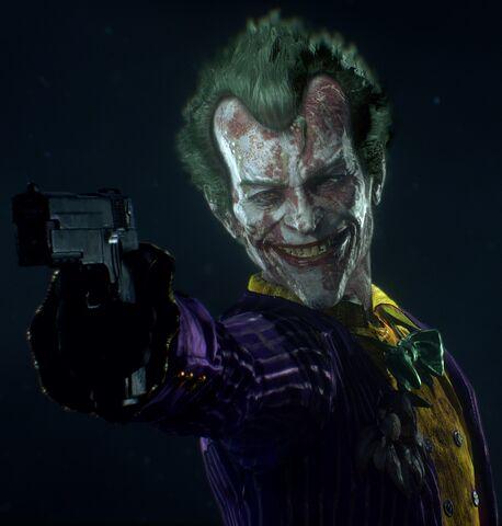 File:Joker character trophy Batman Arkham Knight.jpg