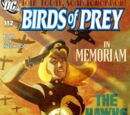 Birds of Prey Issue 112