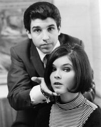 Jon Peters and Yvonne Craig