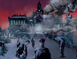 Arkham Mansion AC ruins