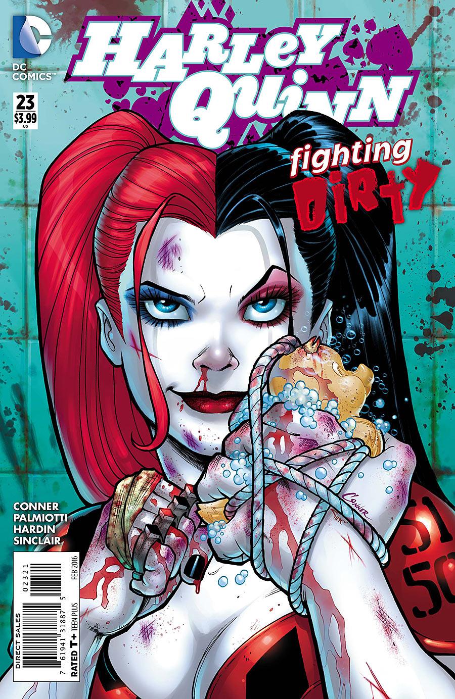 Image Harley Quinn Vol 2 23 Cover 2 Jpg Batman Wiki