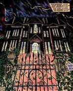 Arkham Asylum Stormy