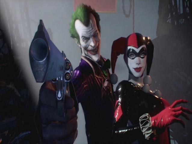 File:Arkham knight joker and harley dlc.png