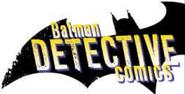 Detective Comics Volume 2 logo