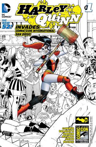 File:Harley Quinn Invades Comic Con International San Diego Vol 2-1 Cover-4.jpg