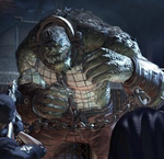 Killer croc batman AA
