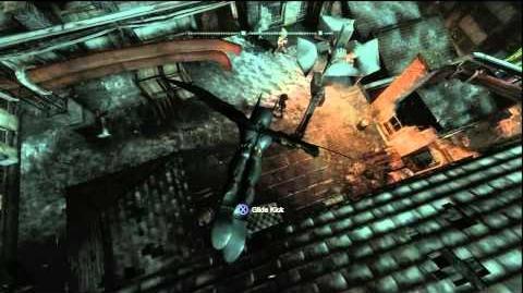 Batman Arkham City - Big Head Mode Easter Egg