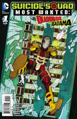 Suicide Squad Most Wanted Deadshot Katana Vol 1-1 Cover-1