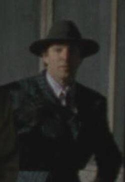 Batman 1989 - Napier Hood with Blue Pinstripe Suit 2