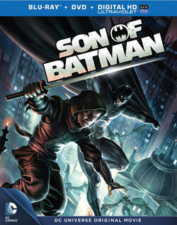 Son of Batman cover art