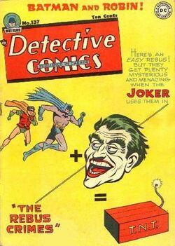 Detective Comics Vol 1-137 Cover-1