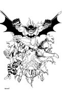 Batman Incorporated Vol 2-0 Cover-3 Teaser