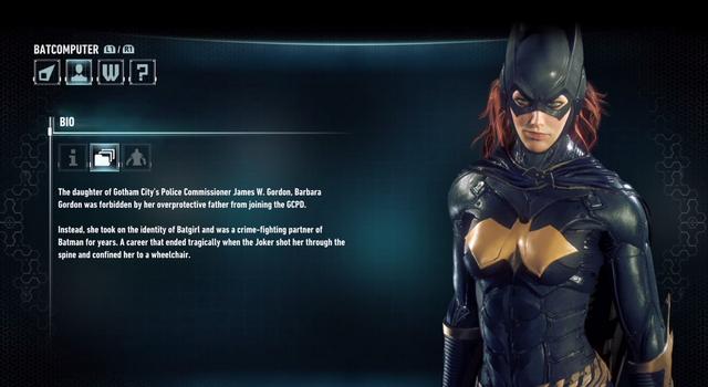 File:Batman Arkham Knight Character bios Batgirl.png