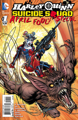 Harley Quinn and The Suicide Squad April Fool's Special Vol 2-1 Cover-1