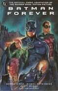 Batman Forever Comic Book Cover
